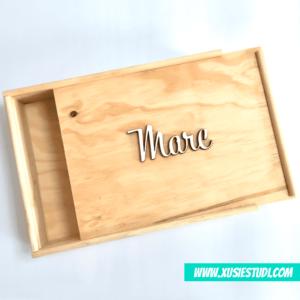 Caixes de fusta per regals personalitzades